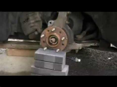 boat trailer wheel hub removal hub buster youtube