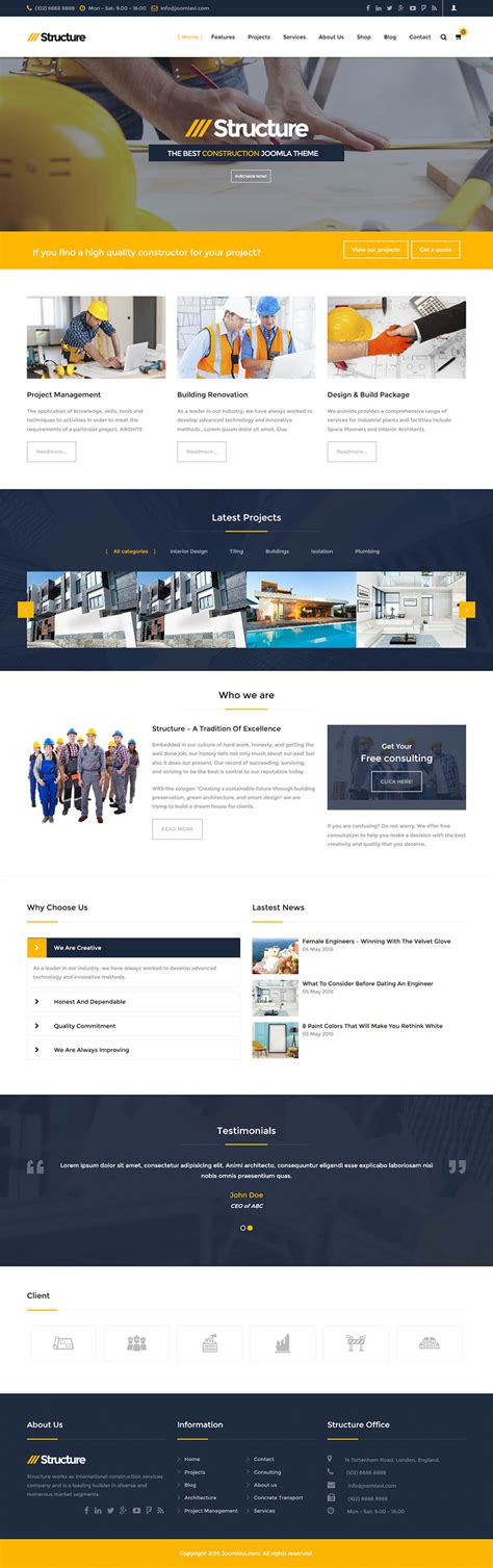 themeforest joomla themeforest structure v2 4 0 11997568 template for