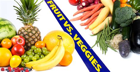 vegetables vs fruits fruits vs vegetables is it even