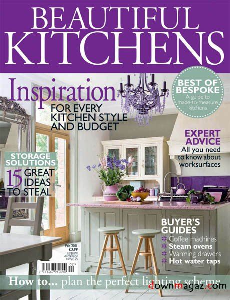 kitchen design magazines free beautiful kitchens february 2011 187 download pdf
