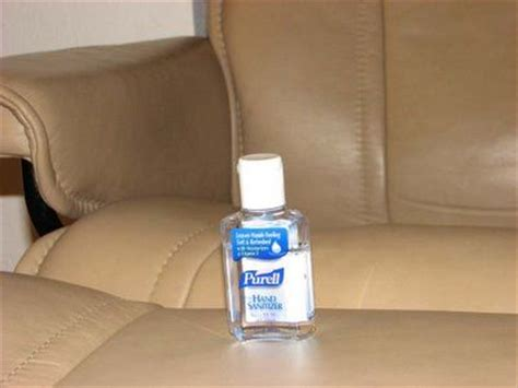 remove ink from couch how to remove pen ink from leather use hand sanitizer