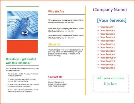 microsoft tri fold brochure template free pharmacy school tri fold