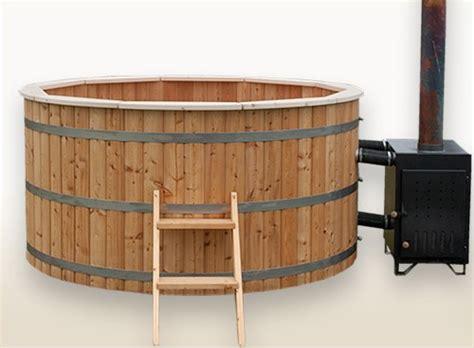 wood heated bathtub wood burning hot tub 2 meter siberian larch external heater wooden hot tubs