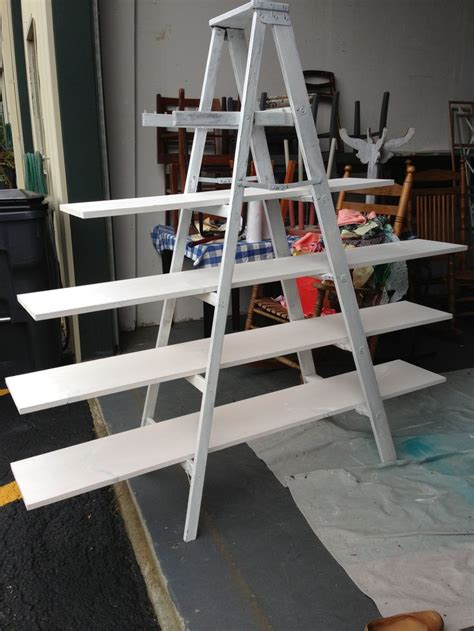 Make Your Own On A Shelf by Make Your Own Ladder Shelf For Your Craft Show Display