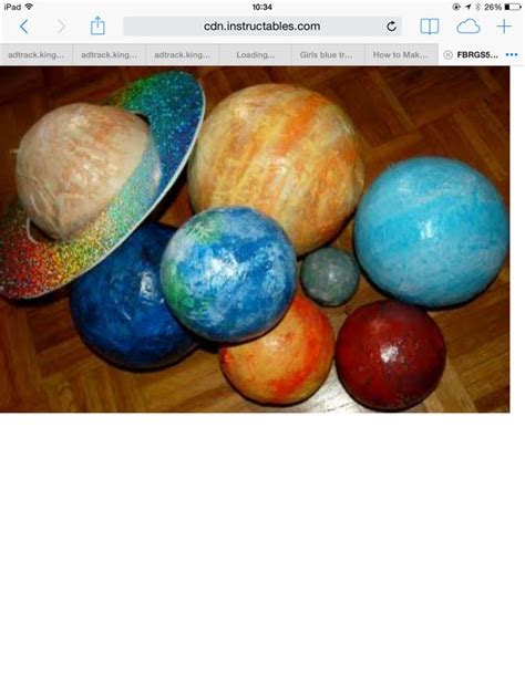 How To Make A Paper Mache Planet - 3 ways to make papier m 226 ch 233 planets wikihow