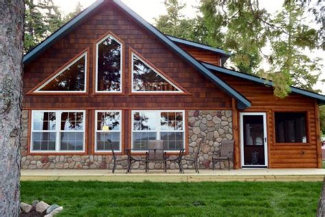 two bedroom bemidji resort cabin on moose lake