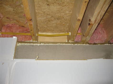 sill band plate joist cavity insulation insulation