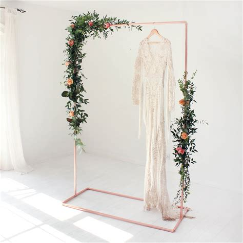 Wedding Backdrop Frame by Copper Wedding Backdrop Frame For Flowers And Garlands By
