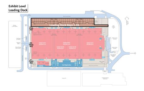 boston convention center floor plan loading docks signature boston