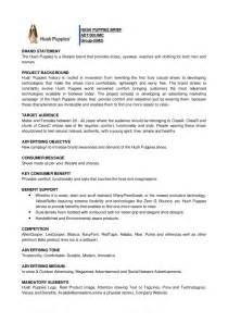 how to write a project brief template creative brief exle