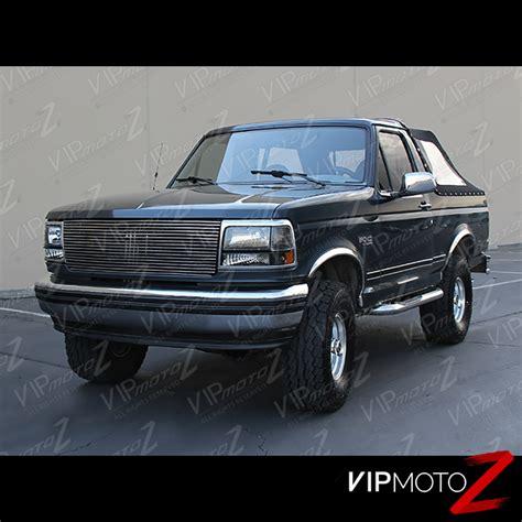 96 f150 tail lights 92 96 ford f150 f250 f350 bronco led brake tinted tail