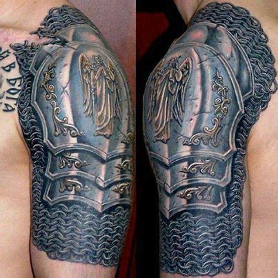 tattoo arm metal metal armour tattoo