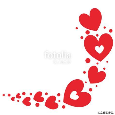 imagenes de corazones vacanos quot coeurs rouge frise quot fichier vectoriel libre de droits sur