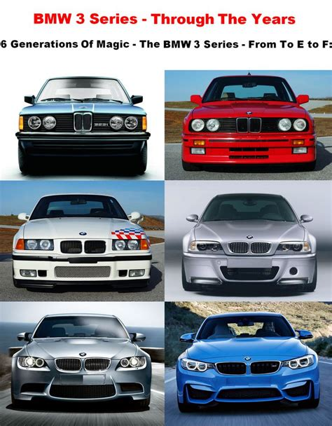 bmw 3 series history experience the bmw 3 series through the years 6