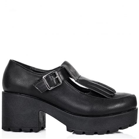 chunky loafer shoes buy essential chunky cleated sole loafer shoes black