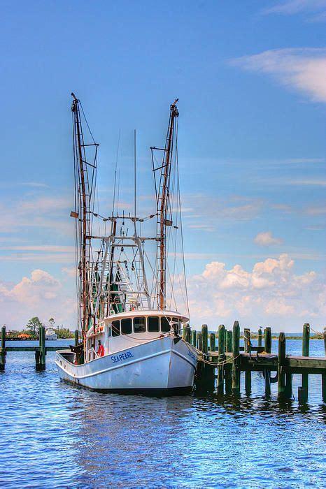 shrimp boat docks near me shrimp boat at dock coastal and waterfront pinterest