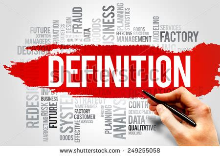 stock images definition definition word cloud business concept stock photo