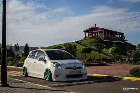 stanced toyota stanced toyota yaris