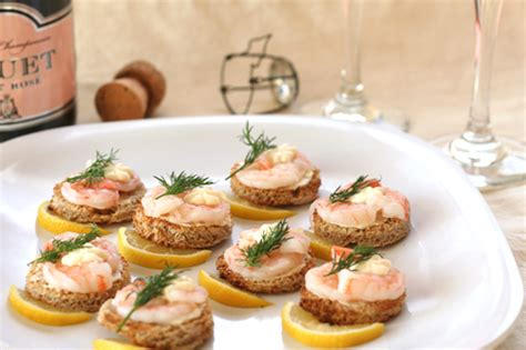 shrimp canape recipe shrimp canapes a la suede