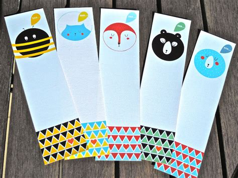 Handmade Bookmark Ideas - handmade bookmarks cut cardstock children add stickers