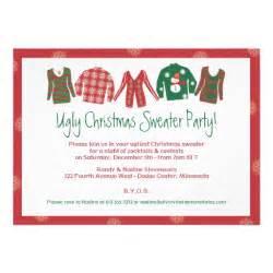 sweater invitation 5 quot x 7 quot invitation card zazzle