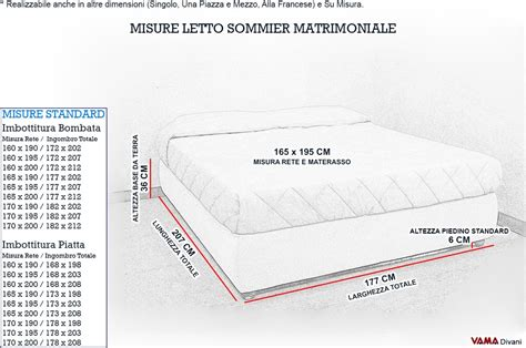 dimensioni di un letto matrimoniale letto contenitore matrimoniale senza testata anche su misura