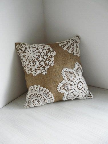 lace crafts projects shabby chic burlap crafts burlap and lace shabby chic