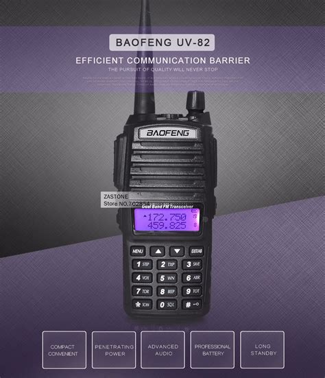 Walkie Talkie Ht Taffware Bf R5 Singgle Band 6w 16ch Uhf taffware walkie talkie dual band 5w 128ch uhf vhf bf