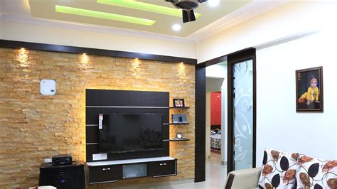 Home Interior Design Pictures Hyderabad by Walkthrough Of Mr Arun 2 Bhk House Interior Design