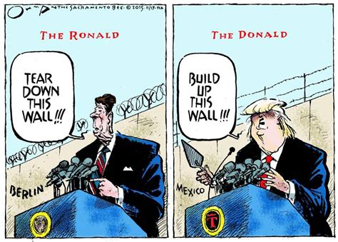 tearing a wall tear build up this wall politicalhumor