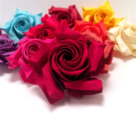 Buy Origami Roses - more roses by refold on deviantart