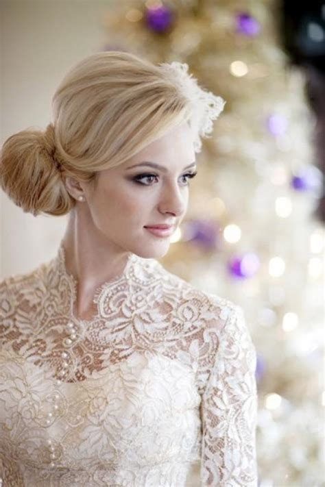 Wedding Hairstyles For Winter by Winter Wedding Hairstyles For Hair 2015 Styloss