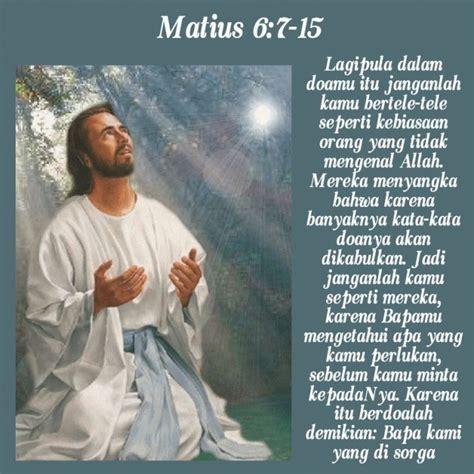 amalkan doa bapa   keseharian hidup renungan harian