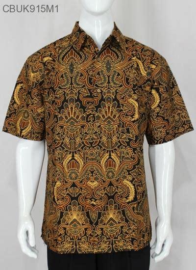 Baju Pisang kemeja batik jumbo motif pisang bali kemeja lengan