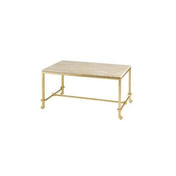 beige white coffee table iron and oval coffee table
