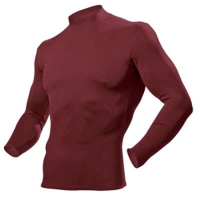 unisex hidef® long sleeve compression shirt   power tek