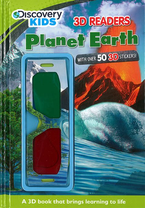 planet books planet earth 3d reader discovery