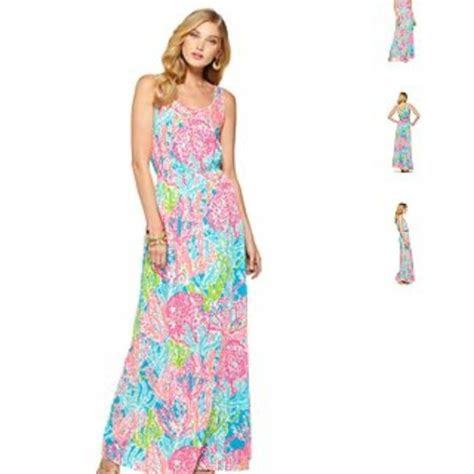 Maxi Delisa 50 lilly pulitzer dresses skirts iso lilly