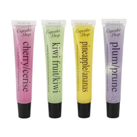 Mazaya Lipgloss 05 10 Ml cup cake shop scented lip gloss assorted 10ml