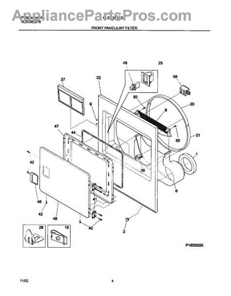 frigidaire 134813601 door switch appliancepartspros com