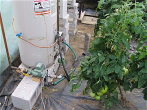 root zone heating systems for greenhouses extension