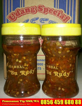 Sambal Terasi Bajak Khas Bu Rudy Botol Tutup Merah sambal bu rudy surabaya oleh oleh khas surabayaoleh oleh khas surabaya
