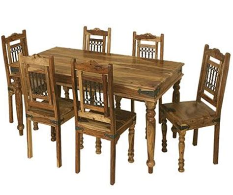 Dining Table With 6 Chairs Jali Dining Table 6 Chairs