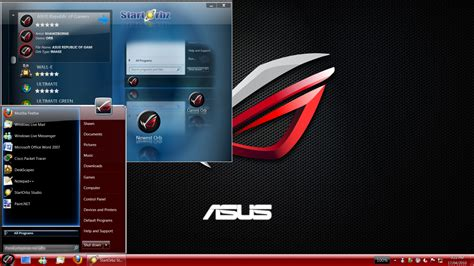 download theme windows 7 republic of gamers asus republic of gamers orb by soundwizard on deviantart