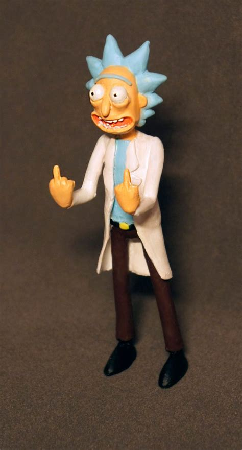 y figures figure rick from rick and morty discussion