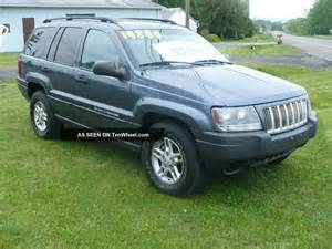 2004 jeep grand laredo 4x4 loaded all power cd