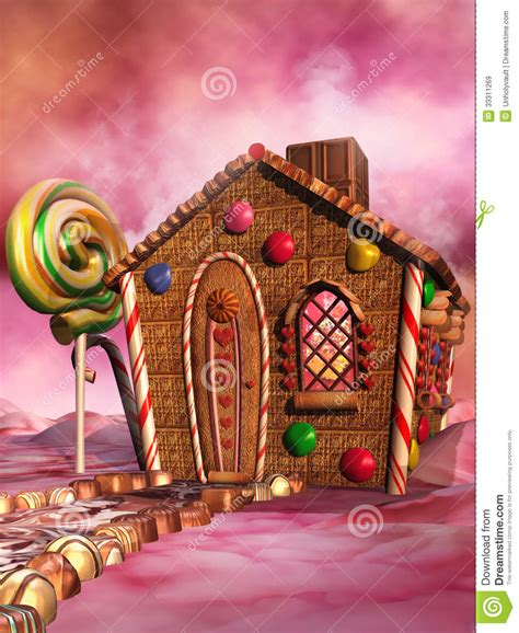 the candy house candy house royalty free stock images image 33311269