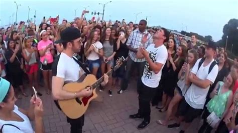 timeflies ride acoustic youtube timeflies acoustic freestyle in chicago justforfun youtube