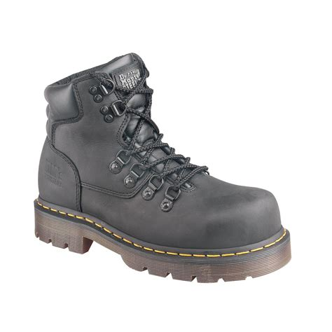 womans steel toe boots s dr martens 174 6 eyelet steel toe boots 26149