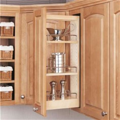 rev kitchen cabinets rev a shelf 26 25 in h x 5 in w x 10 75 in d pull out